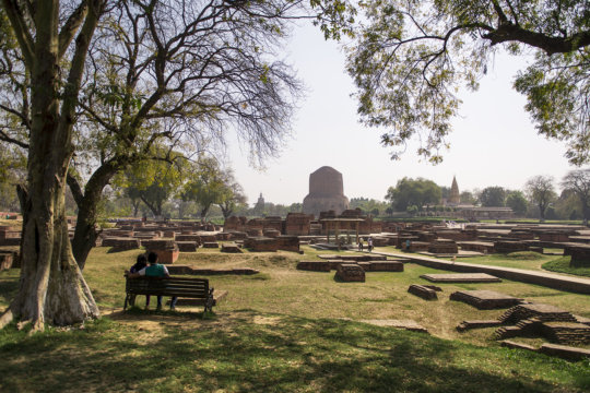 Sarnath, India, site of Buddha