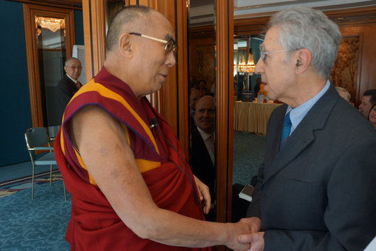 Meeting with H.H. the Dalai Lama in Frankfurt