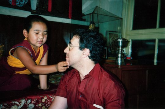 Recognized by Serkong Rinpoche's reincarnation