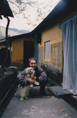Back home in Dharamsala, India