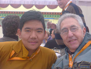 Translators' conference with Serkong Rinpoche II