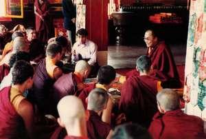 TRANSLATING - with H.H. the Dalai Lama in India