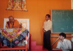 Translating for Tsenzhab Serkong Rinpoche I