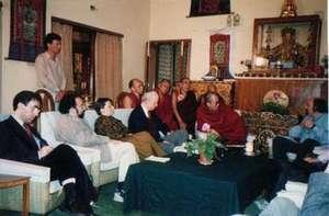 Jewish leaders' conference with H.H. Dalai Lama