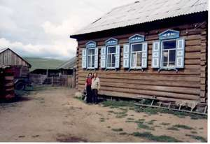 A typical Siberian house