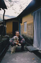 Back home in Dharamsala, India