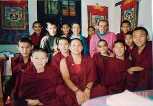 TEACHING - young Kalmyk Mongol monks from Russia