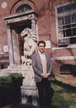 Returning to lecture at Harvard University