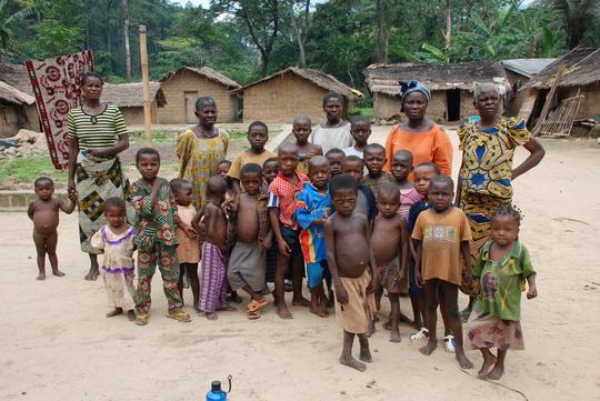 A few members of Ote village community in Akwaya