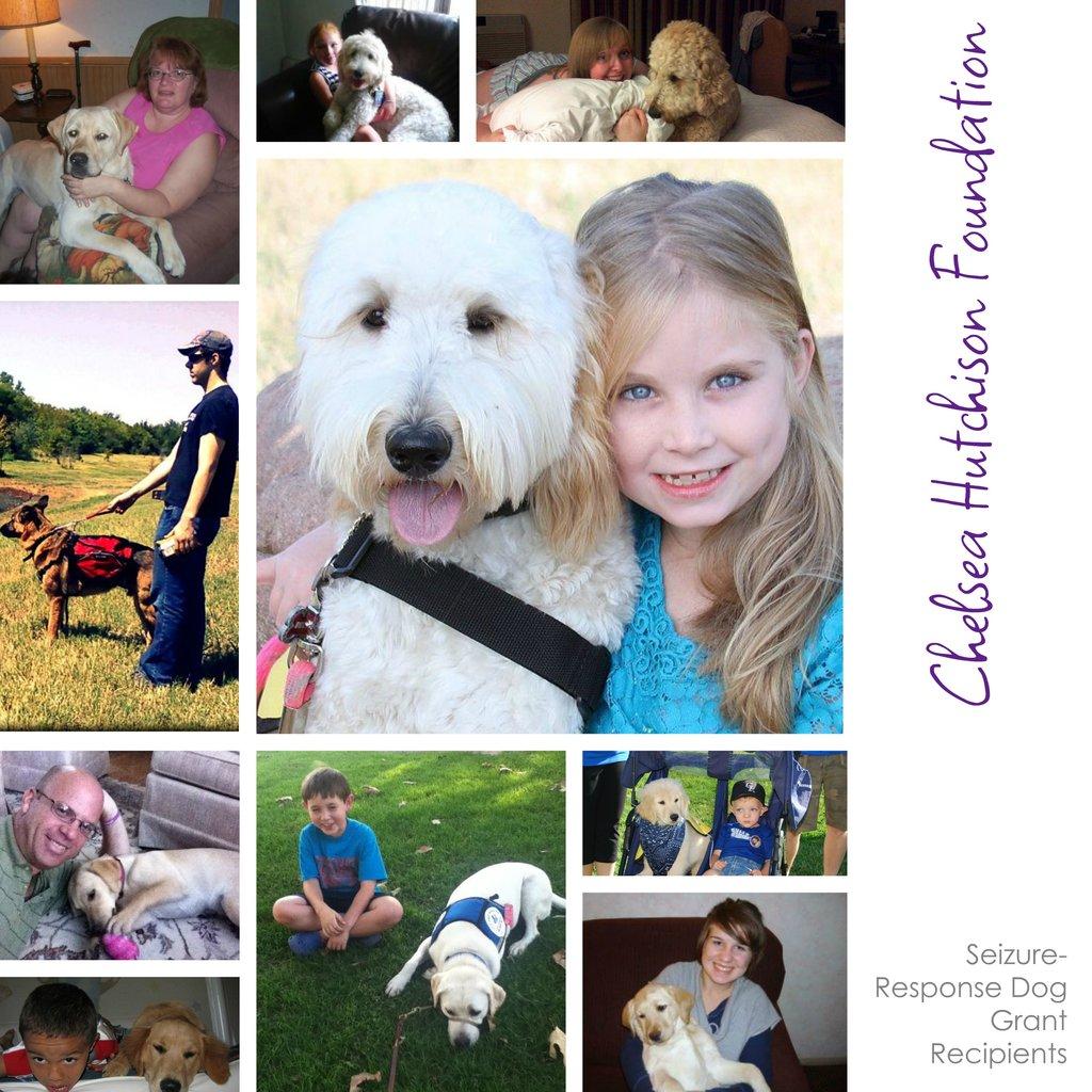 A few of our Seizure-Response Dog Grant Recipients