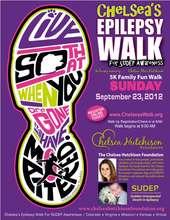 Chelsea's Epilepsy Walk for SUDEP Awareness