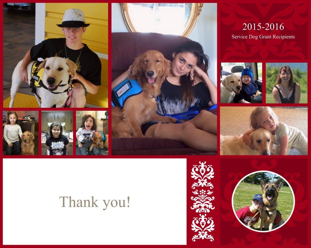 Seizure Response Dog Grant Recipients