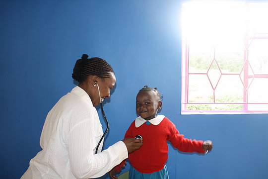 SHOFCO: Johanna Justin-Jinich Community Clinic