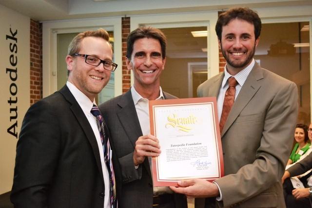 Proclamation awarded by CA Senator Mark Leno