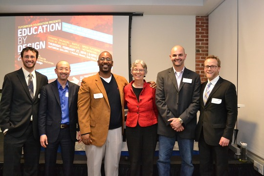 TF Cofounders with Ed By Design featured speakers