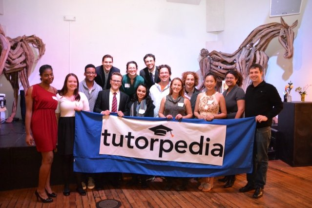 Tutorpedia team at February 15th benefit event