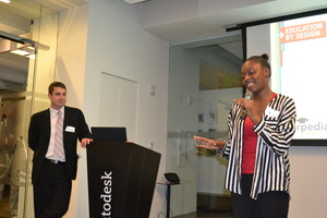 "Bianca speaks at February's ""Education By Design"""