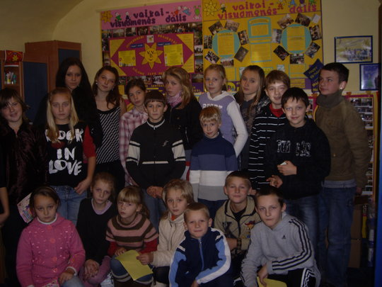 Food and services 1200 rural children Lithuania