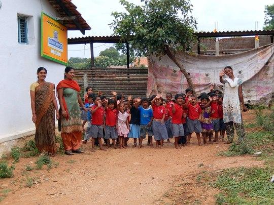Chennapura Centre Students and Teachers
