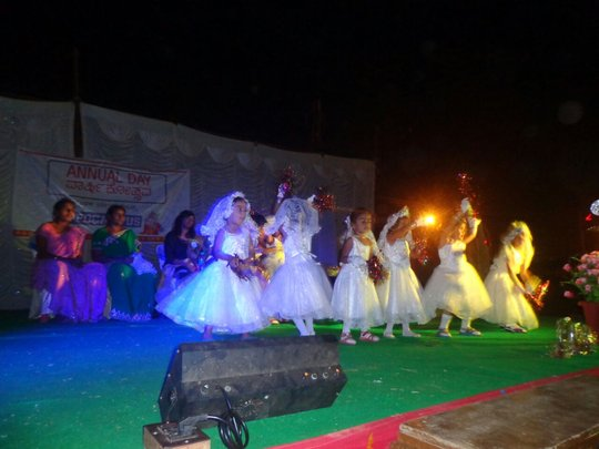 Dance peformance at Annual Day