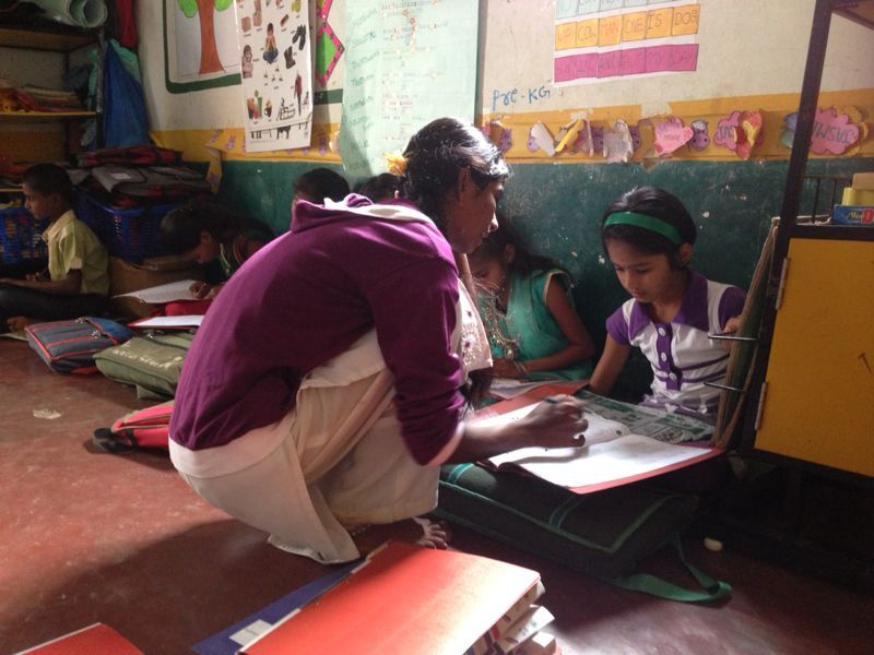 MathSTAR teacher Ashwini in Thurchgatta Centre