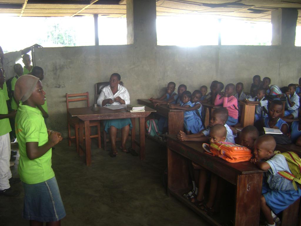MIND kids from Allu held a training on sanitation