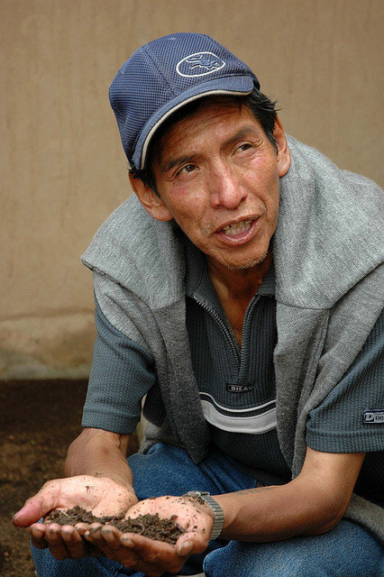 Help older people fight food insecurity in Bolivia