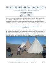 KCBN Project Report Feb 2013 (PDF)
