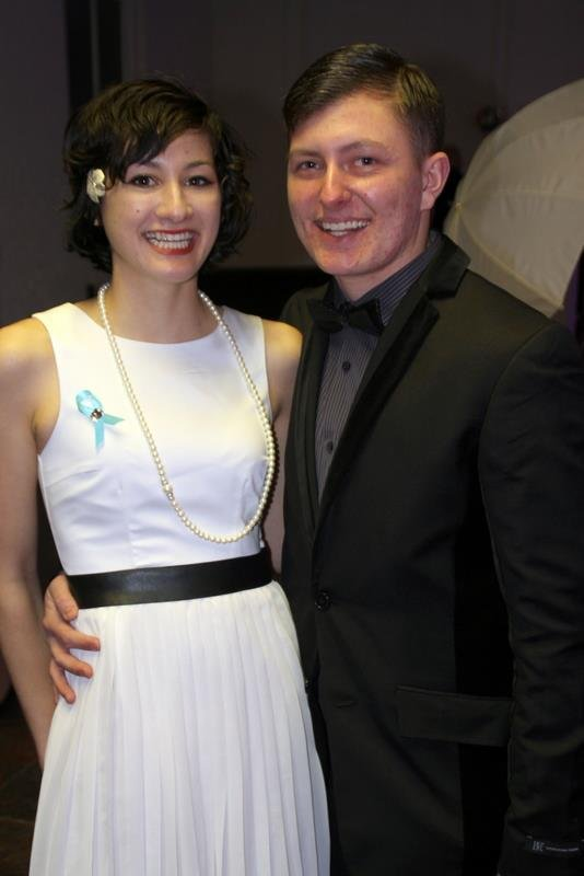 Lissy Richards and Fiance Kendon Fisher