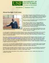 USF Alumni Spotlight (PDF)