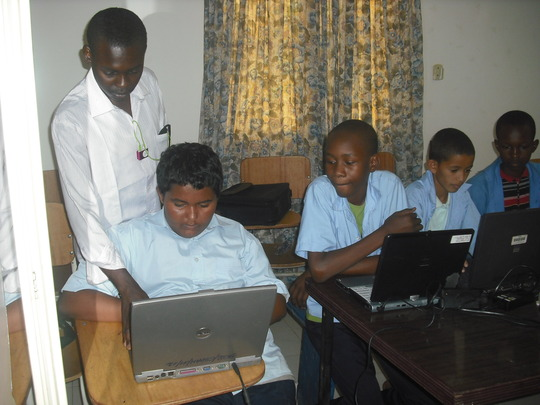 Students with their PC Instructor.
