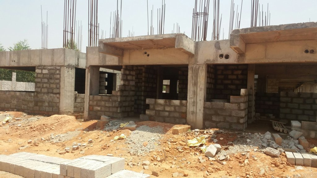 Construction of New Home in process