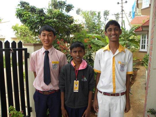 Thotsem, Prem (HEAD BOY) and Elisha
