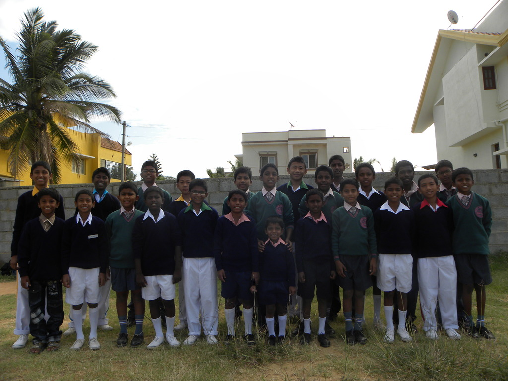 Back to school with new dreams and hope - boys