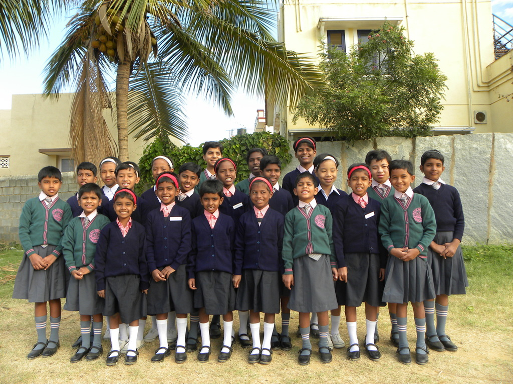 Back to school with new dreams and hope - girls