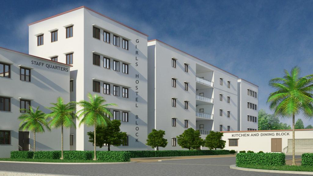 Proposed Girls Hostel Building