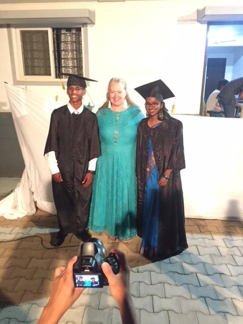 Dayanad and Sarasu graduation