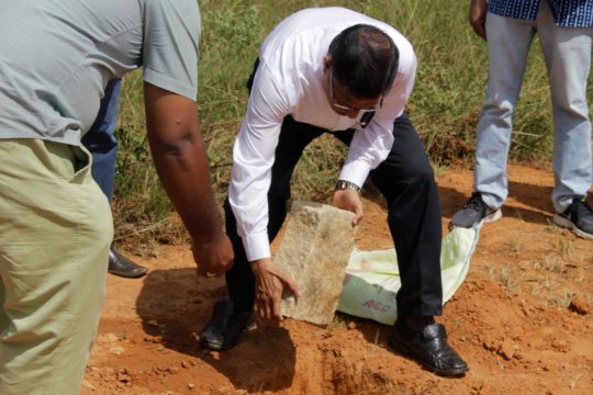 Foundation Stone Laying Ceremony