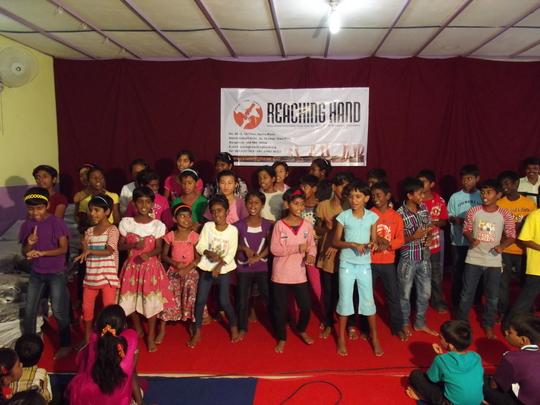 Children having fun while dancing..