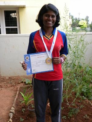 Monisha Competing at Nationals!