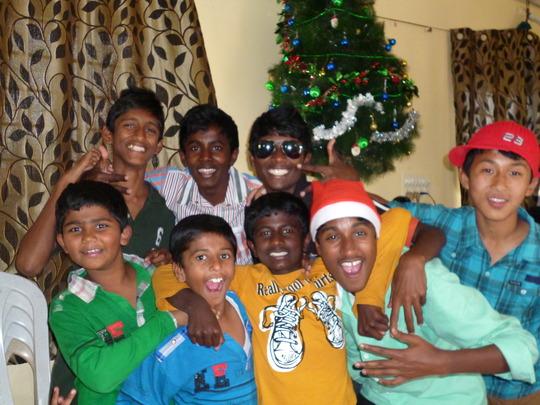 The Boys on Christmas Day