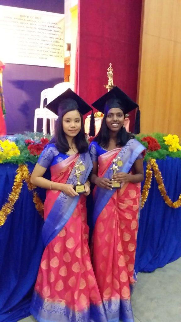 Sneha and Kateni Graduation