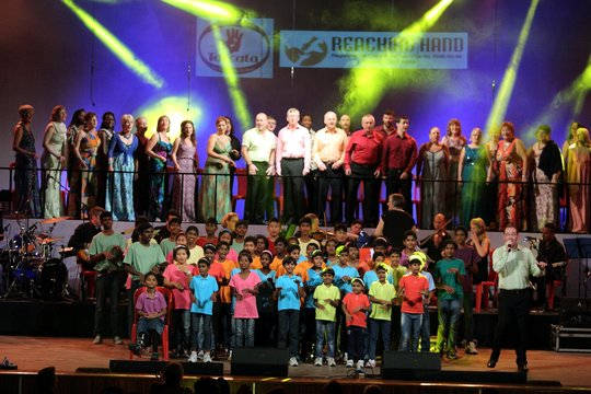 Our Children Performing on Stage with Toccata
