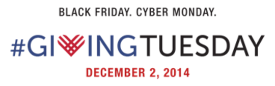 Giving Tuesday is on the 2nd December!