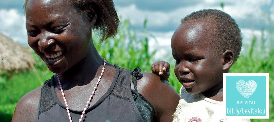 Adong Molly and her HIV free baby
