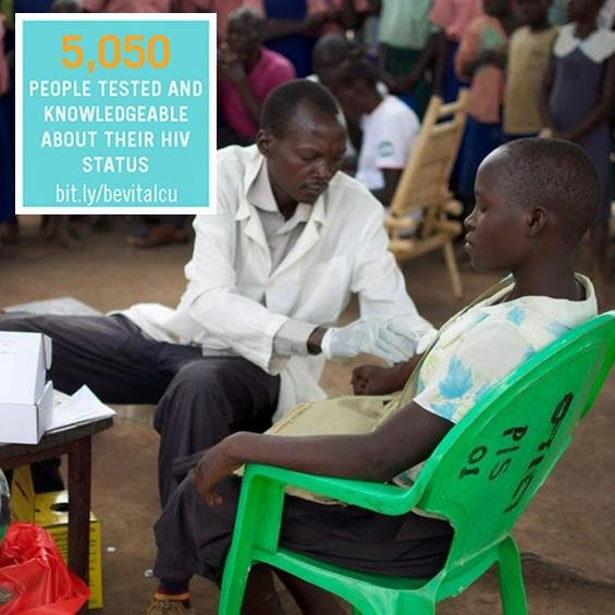 HIV counseling and testing in rural villages