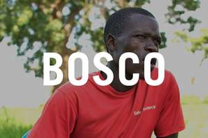 Bosco during a Village Savings and Loan meeting