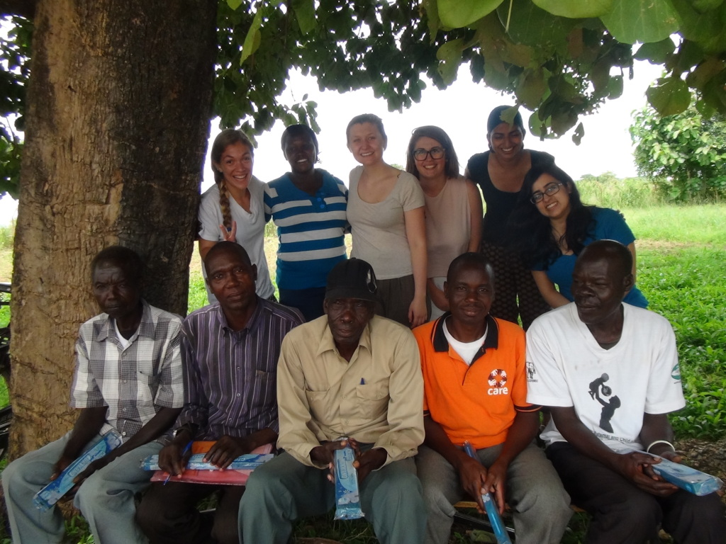 VHTs in Amuru Health Center and the GROW 2015 Team