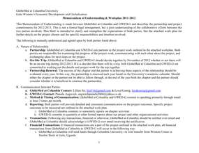 MoU, Work Plan, & Budget for 2012-2013 Project (PDF)