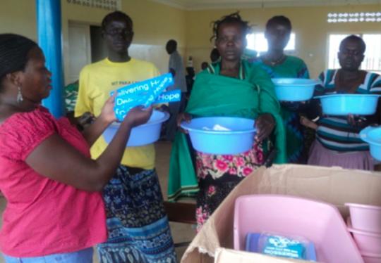 Safe Birth Kit Distribution